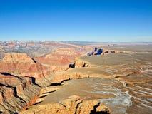 vue grande de gorge aérienne Photo stock