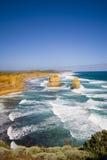 vue grande de route d'océan de melbo de 12 apôtres image libre de droits