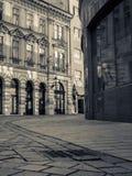 Vue historique de rue Photos libres de droits