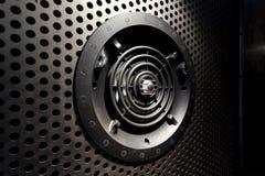 Vue horizontale de porte de ventilation Photo libre de droits