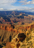 Vue incroyable de Grand Canyon de jante du sud, Arizona, USA Image stock