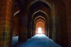 Vue intérieure d'Ambarkhana Ganga Kothi Fort de Panhala, Kolhapur, maharashtra Image stock