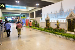 Vue intérieure de Don Mueang International Airport Photos libres de droits