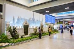 Vue intérieure de Don Mueang International Airport Image libre de droits