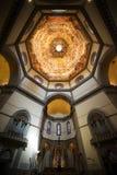 Vue intérieure de Duomo à Florence Photographie stock