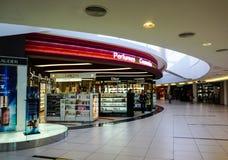 Vue intérieure de l'aéroport à Penang, Malaisie Image libre de droits