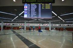 Vue intérieure de l'aéroport dans Phnom Penh Images stock