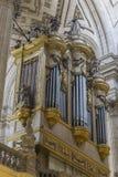 Vue intérieure de la cathédrale à Jaen, également appelée Assumption images stock