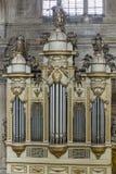 Vue intérieure de la cathédrale à Jaen, également appelée Assumption de image libre de droits