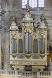 Vue intérieure de la cathédrale à Jaen, également appelée Assumption de images libres de droits