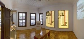 Vue intérieure de la résidence d'Ataturk à Salonique, Grèce photo stock