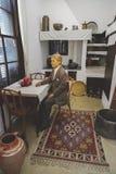 Vue intérieure de la résidence d'Ataturk à Salonique, Grèce photos libres de droits
