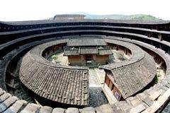 Vue intérieure de la tour de la terre Photo stock