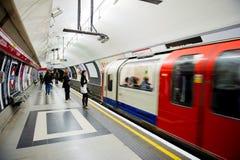 Vue intérieure de Londres au fond Image stock