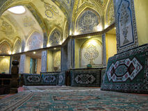Vue intérieure de Sultan Amir Ahmad Bathhouse, Kashan Iran Images libres de droits