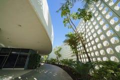 Vue intérieure du bâtiment de thème de LAX Photographie stock