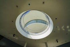 Vue intérieure du bâtiment de thème de LAX Image libre de droits