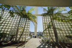 Vue intérieure du bâtiment de thème de LAX Photo stock