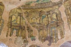 Vue intérieure du rotunda à Salonique, Grèce photographie stock