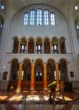 Vue interne de cathédrale principale de Poti photographie stock