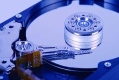 Vue interne de disque dur Images stock