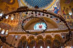 Vue interne de la mer Nicholas Cathedral Photos libres de droits
