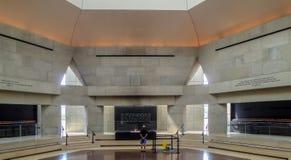 Vue interne du musée commémoratif d'holocauste dans le Washington DC, image libre de droits