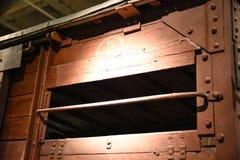 Vue interne du musée commémoratif d'holocauste, dans le Washington DC, les Etats-Unis images libres de droits