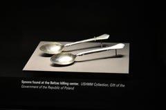 Vue interne du musée commémoratif d'holocauste, dans le Washington DC, les Etats-Unis photos libres de droits