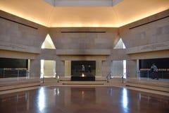 Vue interne du musée commémoratif d'holocauste, dans le Washington DC, les Etats-Unis photo stock
