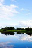 Vue Irlande de lac Image stock