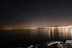 Vue Istanbul de nuit Images libres de droits
