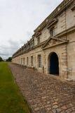 Vue latérale de Corderie Royale dans Rochefort Image stock