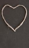 Vue le coeur de la brume de filtre de soins de santé de concept d'amour de ficelle Photo stock