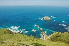 Vue magnifique d'un océan images stock