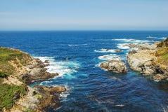 Vue magnifique d'un océan photos stock