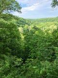 Vue magnifique de gorge en parc national images libres de droits
