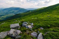 Vue magnifique de la montagne de Runa photo libre de droits