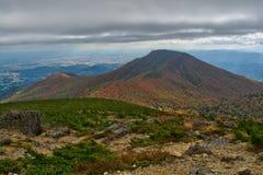 Vue magnifique de montagne photos stock