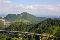 Vue-montagnes Images libres de droits