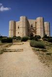 Vue n.4 de Castel del Monte Images stock