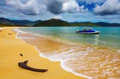 vue neuve côtière la zélande Photo libre de droits