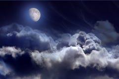 Vue nocturne Image stock