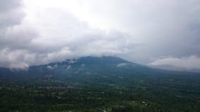 Vue nuageuse image libre de droits