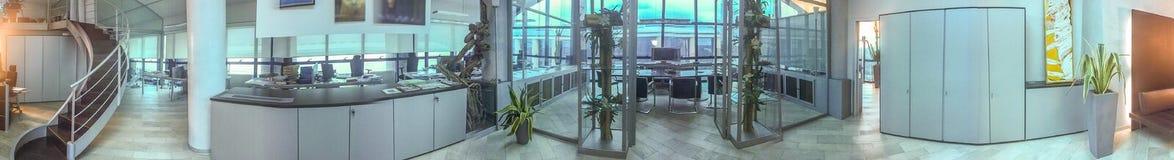 Vue oanoramic intérieure de bureau moderne Concept d'entreprise Photographie stock