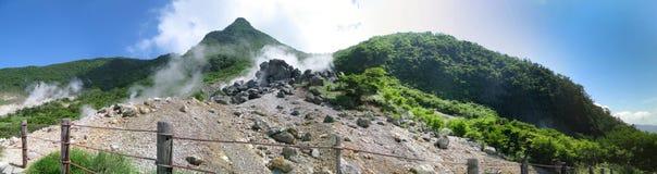 Vue panoramatic de stationnement de Fuji Hakone Photo libre de droits