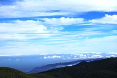 Vue panoramique à Gran Canaria Images libres de droits