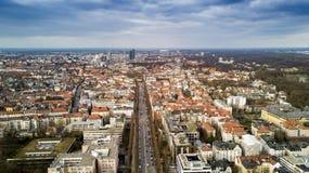 Vue panoramique aérienne de Munich Allemagne Images stock