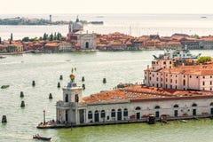 Vue panoramique aérienne de Venise, Italie photographie stock libre de droits