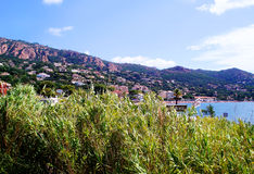 Vue panoramique Agay Photos stock